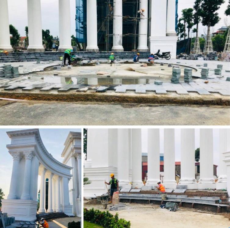 Tiến Độ Cổng Chính Danko City Ngày 29-08-2021